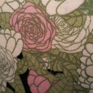 LuLaRoe Dresses - LulaRoe floral print 1/2 sleeve dress small